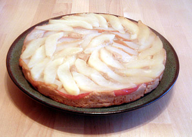 Pear Upside-down Cake - Gluten-free, dairy-free and sugar-free!