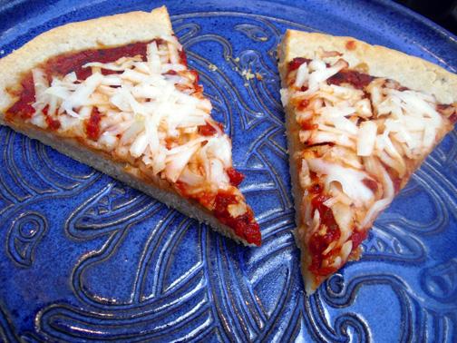 Gluten-free pizza crust, tort style