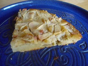 Gluten Free Apple Clafoutis