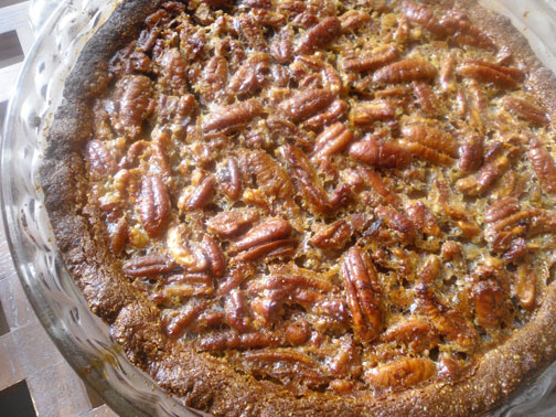 Gluten-free and Dairy-free Pecan Pie