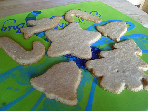 Holiday Cookie Cutter Recipe Wheat Gluten Grain Dairy And Sugar