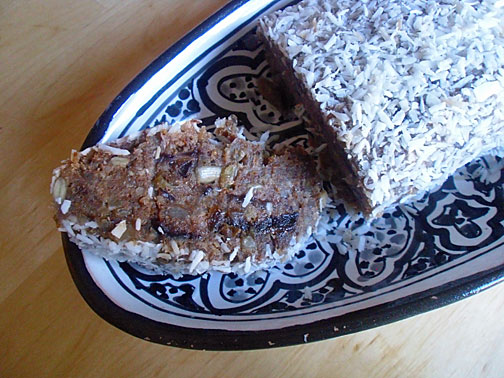 Grain Free Date and Fig Nut Bars